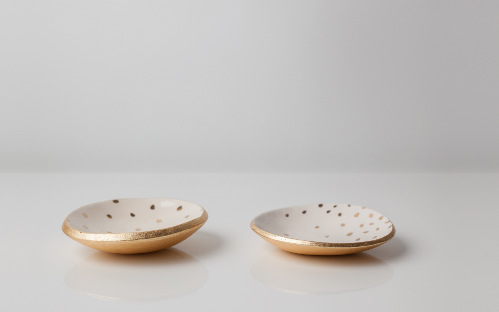 Photo of Gold Dotted Dishes