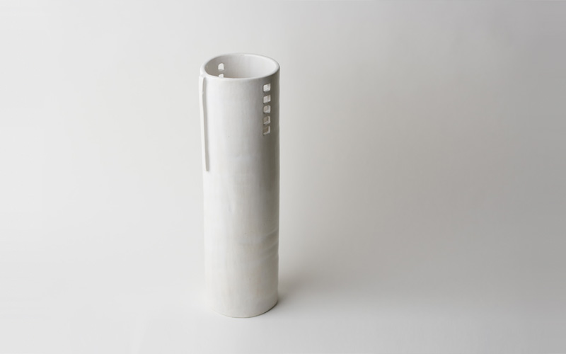 Photo of large silo vase