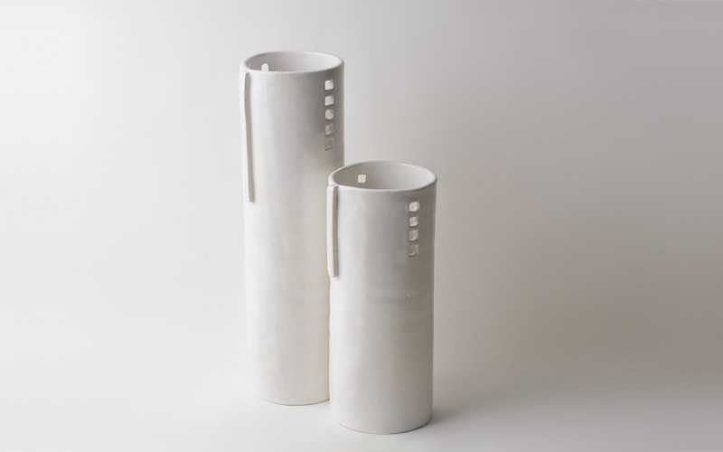 Photo of silo vases